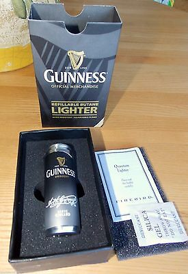 COLIBRI Guinness Beer Butane Lighter NEW IN BOX, Soft Flame $50 DAD FATHER GIFT