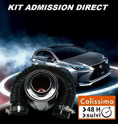 Kit Admission Direct Dynamique Carbone Boite Filtre A Air Tuning Universel