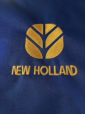 Embroidered with New Holland Logo Waterproof Tractor Seat Cover