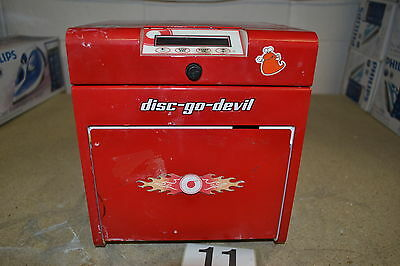 TDR Disc-Go-Devil CD DVD & Game Disc Repair & Cleaning Machine (Untested)