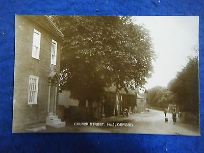 Orford: Church Street - Scarce Real Photo Postcard!