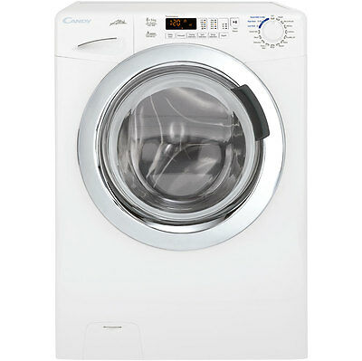 Candy GVW485DC Washer Dryer 8kg Load & 5kg wash/dry, LED Display, 1400 Spin