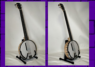 Goldtone BASS BANJO BB-400 electric Fretted 4-String Bass Banjo with Gigbag TOP