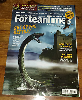 FORTEAN TIMES - June 2016 Issue # 341 - Lock Ness Monster Out Of The Depths