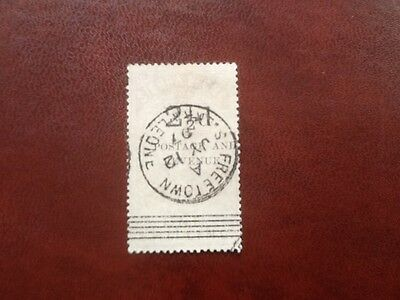 SIERRA LEONE QV 21/2d on 3d SG#56 CV£100 CLASSIC GOOD USED STAMP NO RESERVE