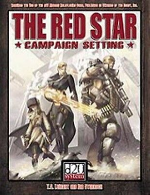 d20 MODERN Red Star Super Hero Setting Hardcover Price Inc Delivery in UK