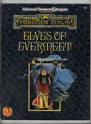 Forgotten Realms ELVES of EVERMEET FOR5 9430  Includes delivery in the UK