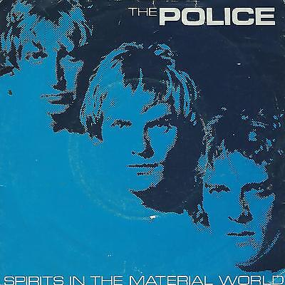 """The Police """" Spirit In The Material World-Low Life """"  7"""" Uk"""