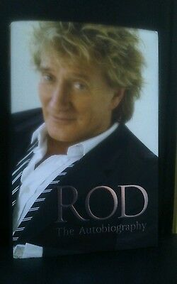 Signed Rod Stewart The Autobiography