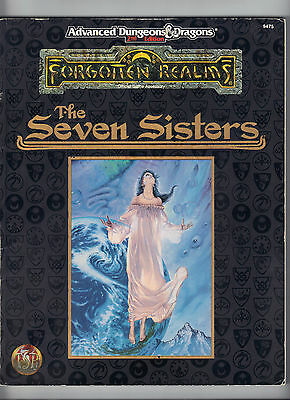 Forgotten Realms the SEVEN SISTERS  FOR6 9475  Includes delivery in the UK