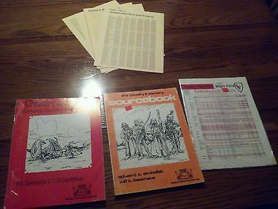 Chivalry & Sorcery 1st Edition Lot