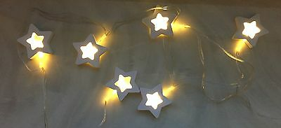 Christmas Wooden Star Lights Window Tree Home Decoration Led String Fairy L 62