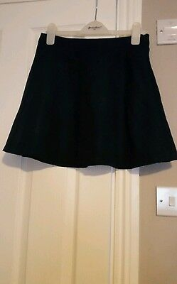 915 girls faux suede look skirt age 12-13