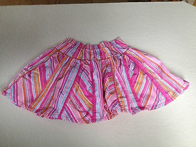Pink multicolour Cotton Skirt. Age 4-5 Mothercare
