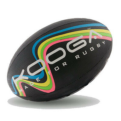 KOOGA  WAVE  RUGBY BALL (supplied deflated) - 2016 SEASON.  Various sizes.