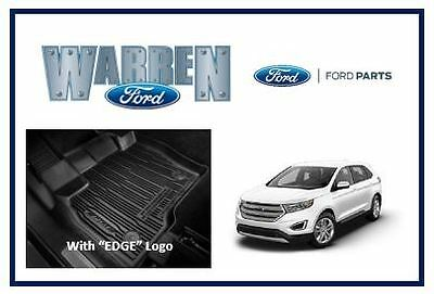Ford Edge Floor Liners Mats Oem Similar To Weather Tech