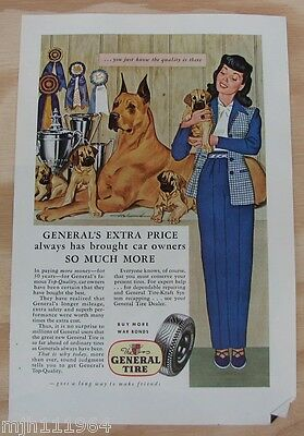 1940's General Tire WWII advertisement