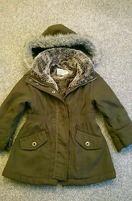 Girls 'Peter Storm' Winter Coat Age 3-4 excellent condition