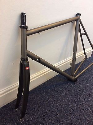 Raleigh Special Products RSP Titanium TIMET road bike frame 58 cm