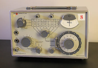 Marconi Instruments TF 2700 Universal Bridge with Original Manual