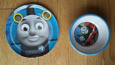 Thomas the tank engine bowl and plate
