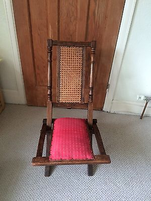 Collectable display Edwardian child Steamer Chair Christmas present idea