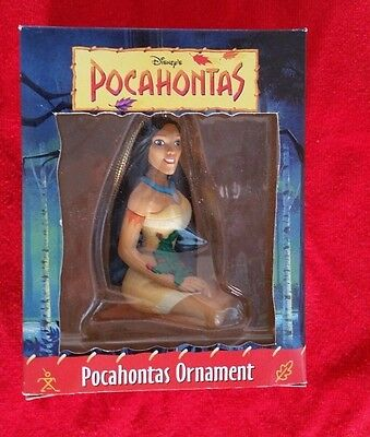 Christmas Ornament Pocahontas Disney Grolier First Issue Collectibles