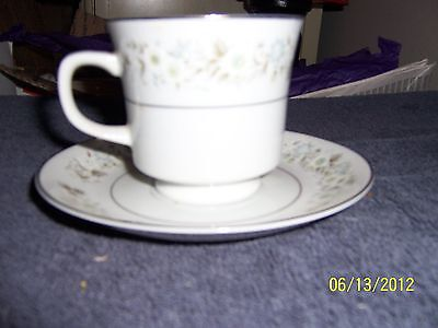 Imperial China by W. Dalton Cup and Saucer Set Wild Flower Pattern 745