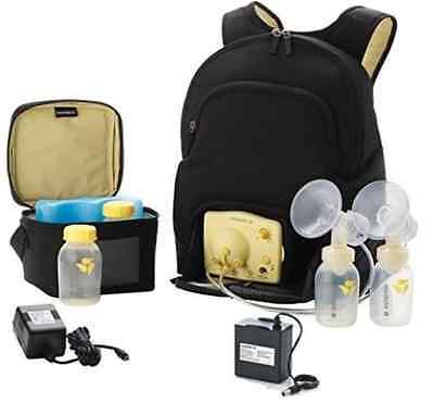 New Medela Backpack bag Travel Double Pump In Style Advanced & extras