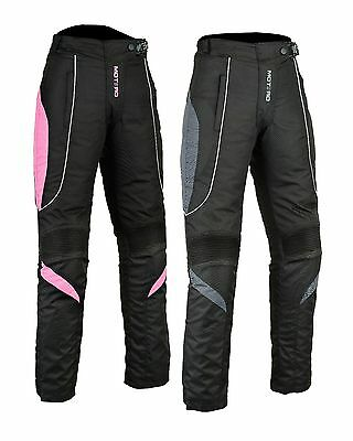 Ladies Motorcycle Motorbike CE Armoured Reissa Waterproof Cordura Trouser/Pants