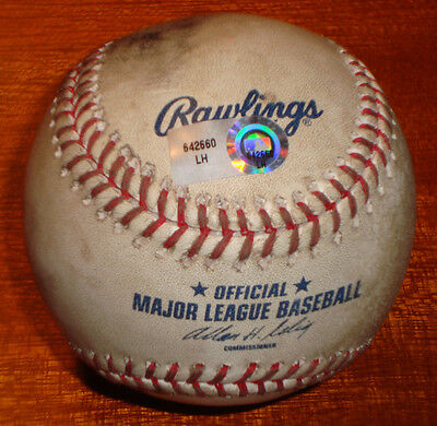 Adam Wainwright Game Used First Career Complete Game Shutout Baseball MLB HOLO
