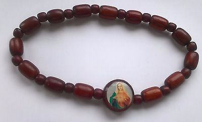 Wood Bracelet from Casa De Dom Inacio, blessed by John of God
