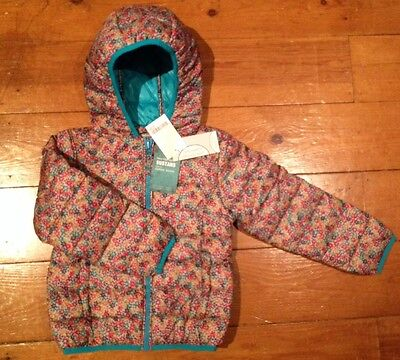 NEXT girl Ditsy padded shower resistant winter jacket size 5 years BNWT