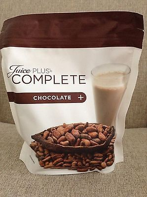 JUICE PLUS chocolate shake pouch brand new & Sealed, Expire 11/2017
