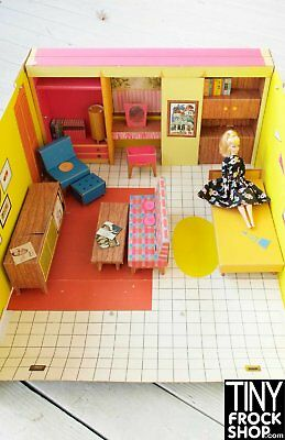 Barbie 1962 Original Dream House Near Complete!!