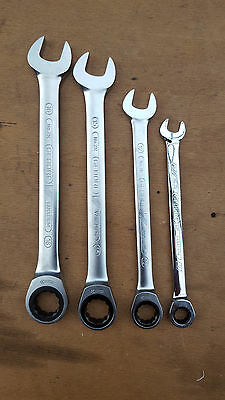 Gedore Germany No 7R Ratchet Combination Spanner Set