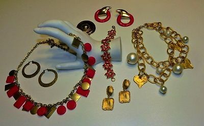 Costume Fashion Jewelry Lot Statement style necklaces Kate Spade Saturday etc.