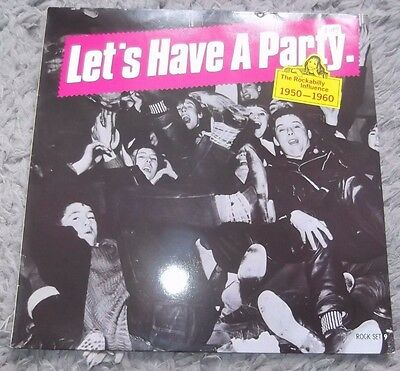 Lets have a party - the rockabilly influence 1950-1960 album