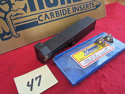 "1"" Thread  Boring Tool Sthor 16-4 W / 3  Nordic Carbide Thread Inserts {47}"