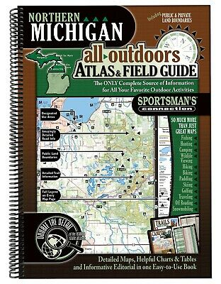 Northern Michigan All-Outdoors Atlas & Field Guide | Sportsman's Connection
