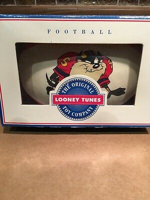 Looney Tunes Sports Club - TAZ Football In Box 1994 Rare