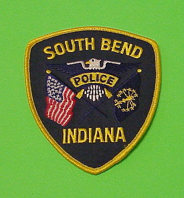 South Bend  Indiana  In   Police Patch   Free Shipping!!!