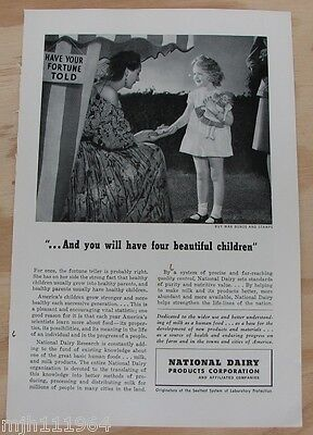1940's National Dairy Products Corp WWII advertisement