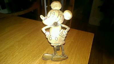 VINTAGE ANTIQUE 1920,s BRASS MICKEY MOUSE CHARACTER VERY VERY RARE!!!