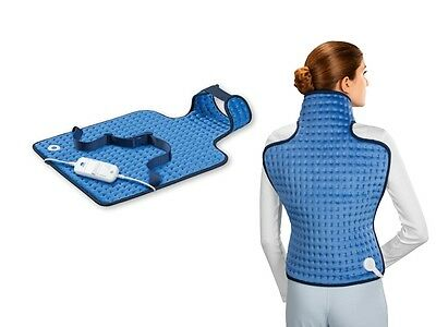 New Electric Warm Soothing Soft Back & Neck Heat Pad GREAT CHRISTMAS GIFT IDEA*