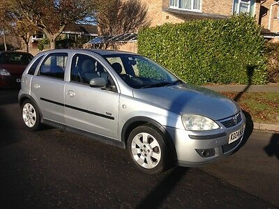 Spares Or Repair 2004 Vauxhall Corsa Sxi 1.2 5Dr. Cosmetic Damage Only