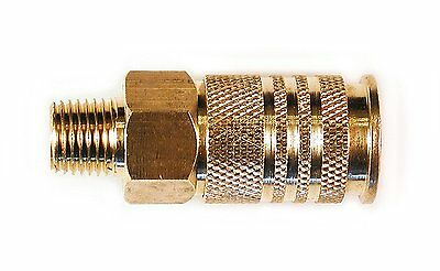 Primefit UC1414MB 1/4-Inch Universal Brass Coupler with 1/4-Inch Male NPT