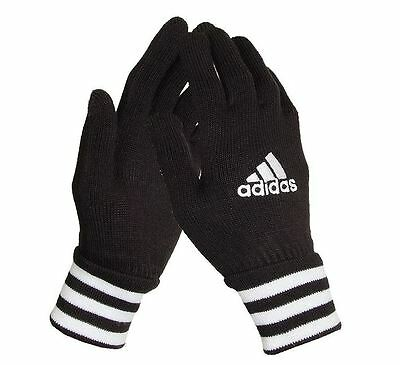Adidas Black Gloves Z10082 S, Knit Winter Sports Running Tracking Number