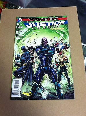 Justice League #30 New 52 First full appearance of Jessica Cruz