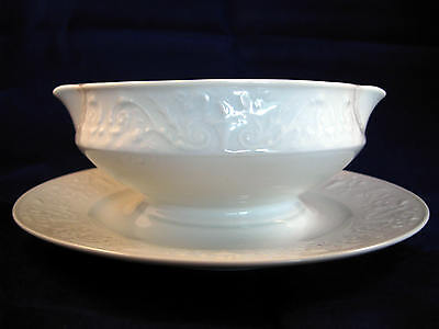 Sauciere Limoges France weiss